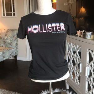"""HOLLISTER"" small black t-shirt"